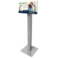 FloorStand Charging Station for charging phones for healthcare organizations