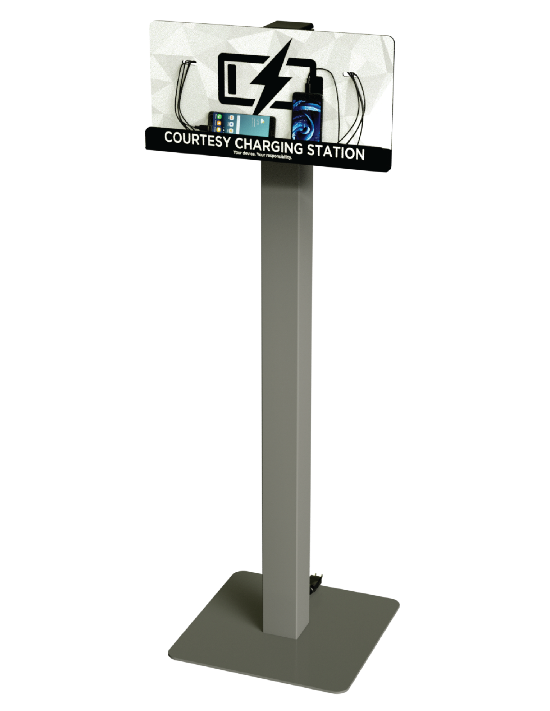 Charging Stations w/ Standard Graphic