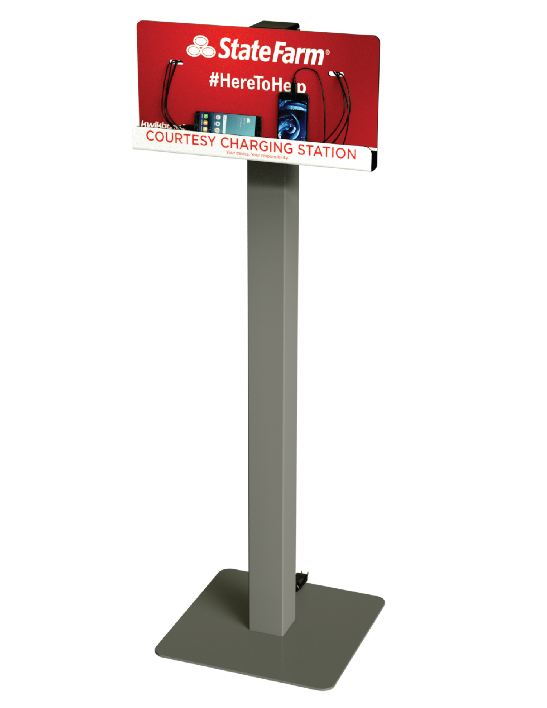 Charging Stations w/ Custom Graphic