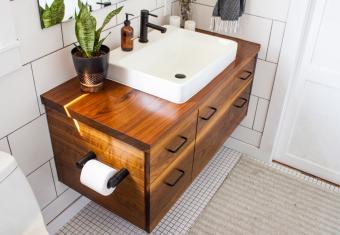 The Three Best Places to Find Bathroom Vanities