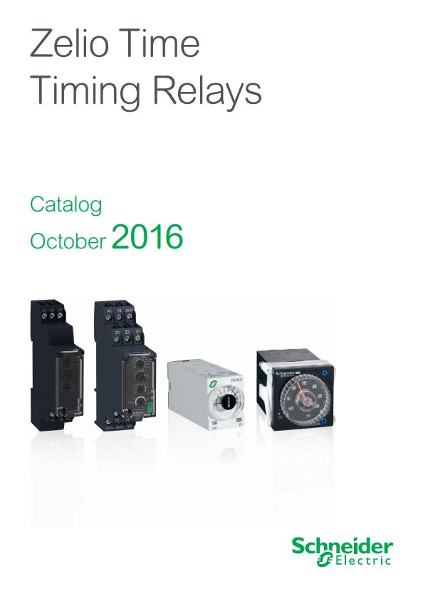 Schneider Electric Zelio Time Timing Relays And Timers