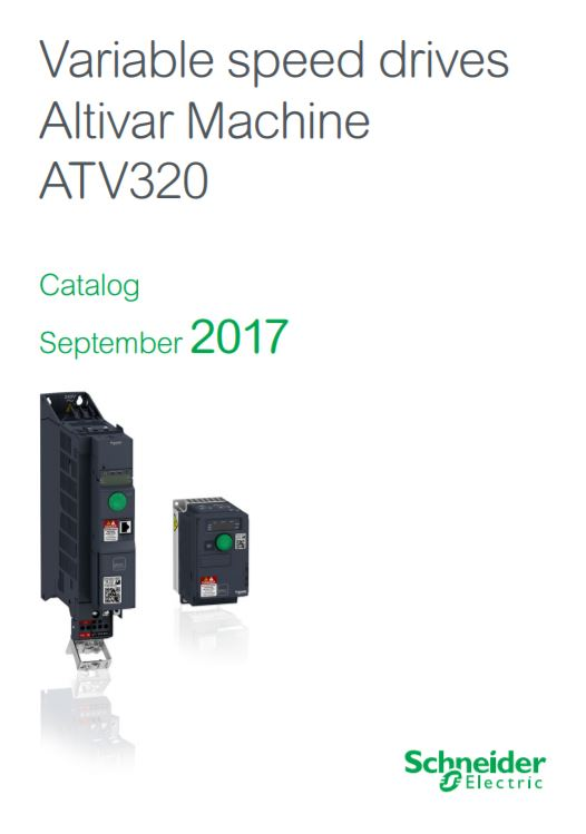 Schneider Electric - Altivar 320 variable speed drives (VSD