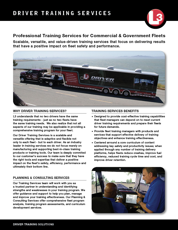Driver Training Services