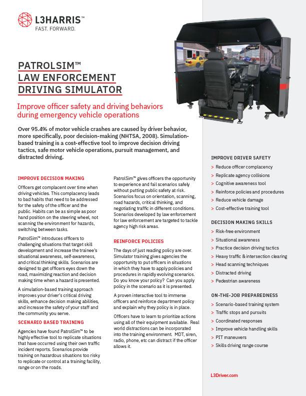 Patrolsim™ Brochure