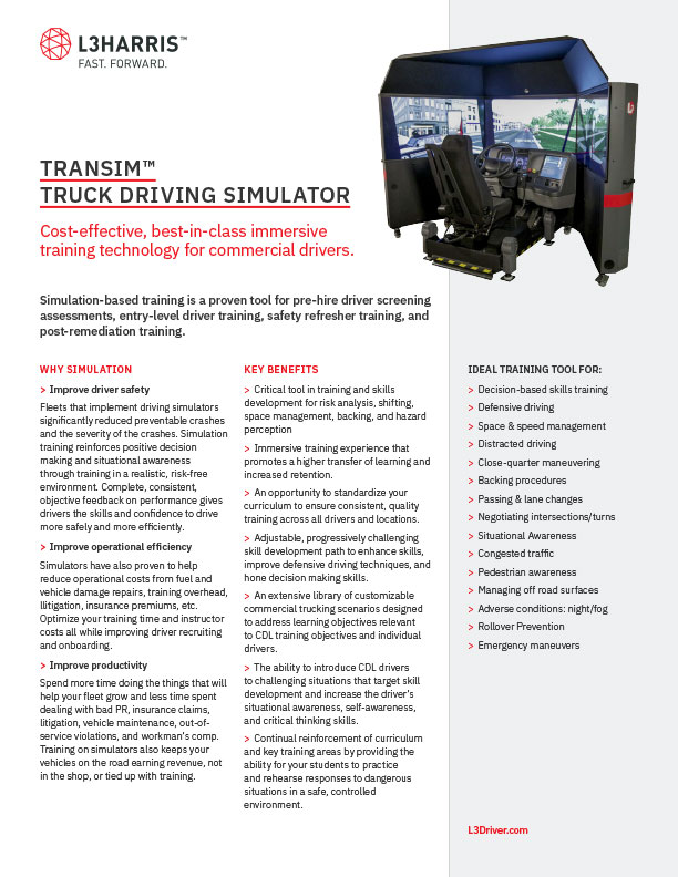TranSim™ Driving Simulator