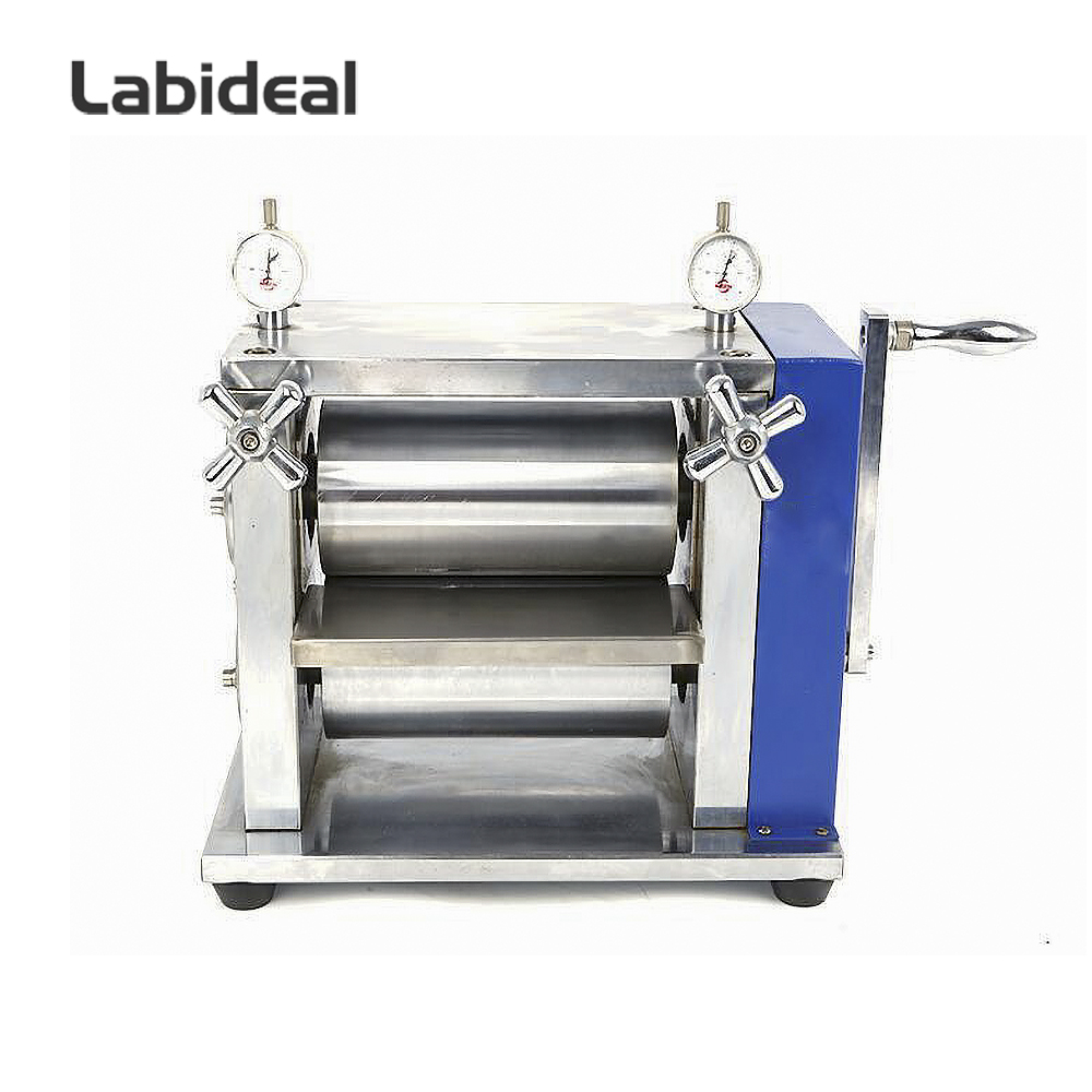 Manual Lab Roller Press Calendering Machine for Lithium ion Battery Electrode