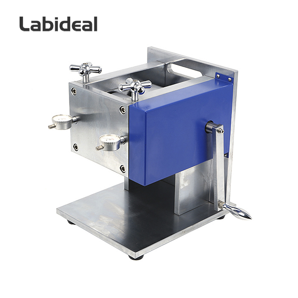 Vertical Manual Rolling Press Machine for Battery Electrode Calendering