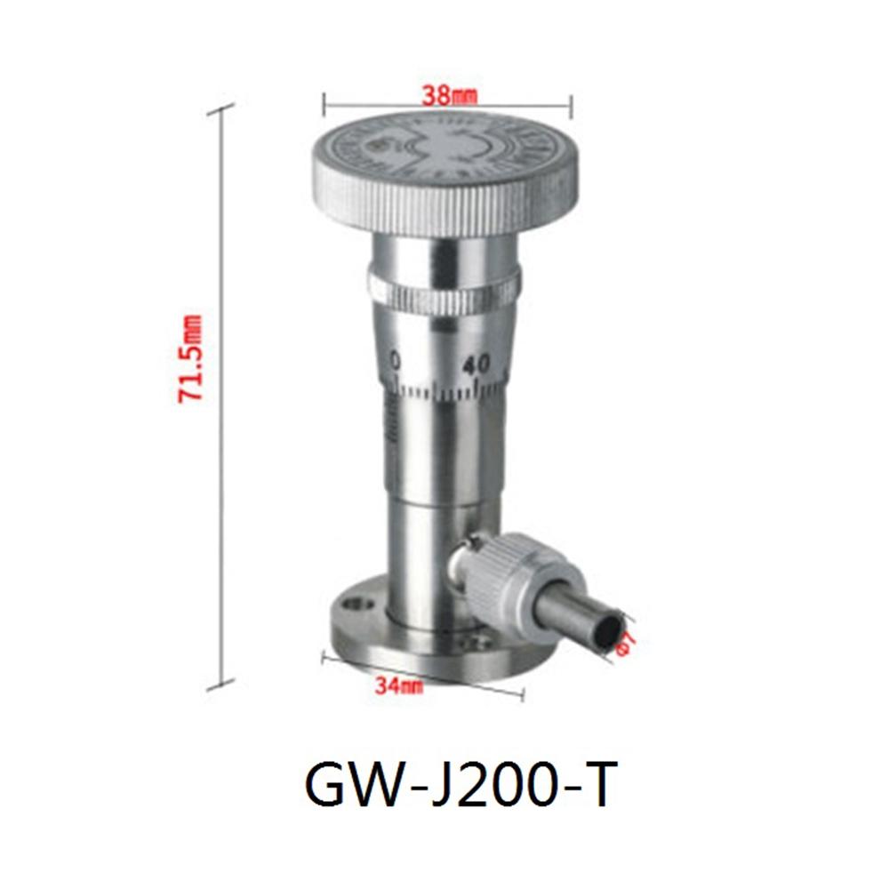 High Vacuum Fine Tuning Valve GW-200-T