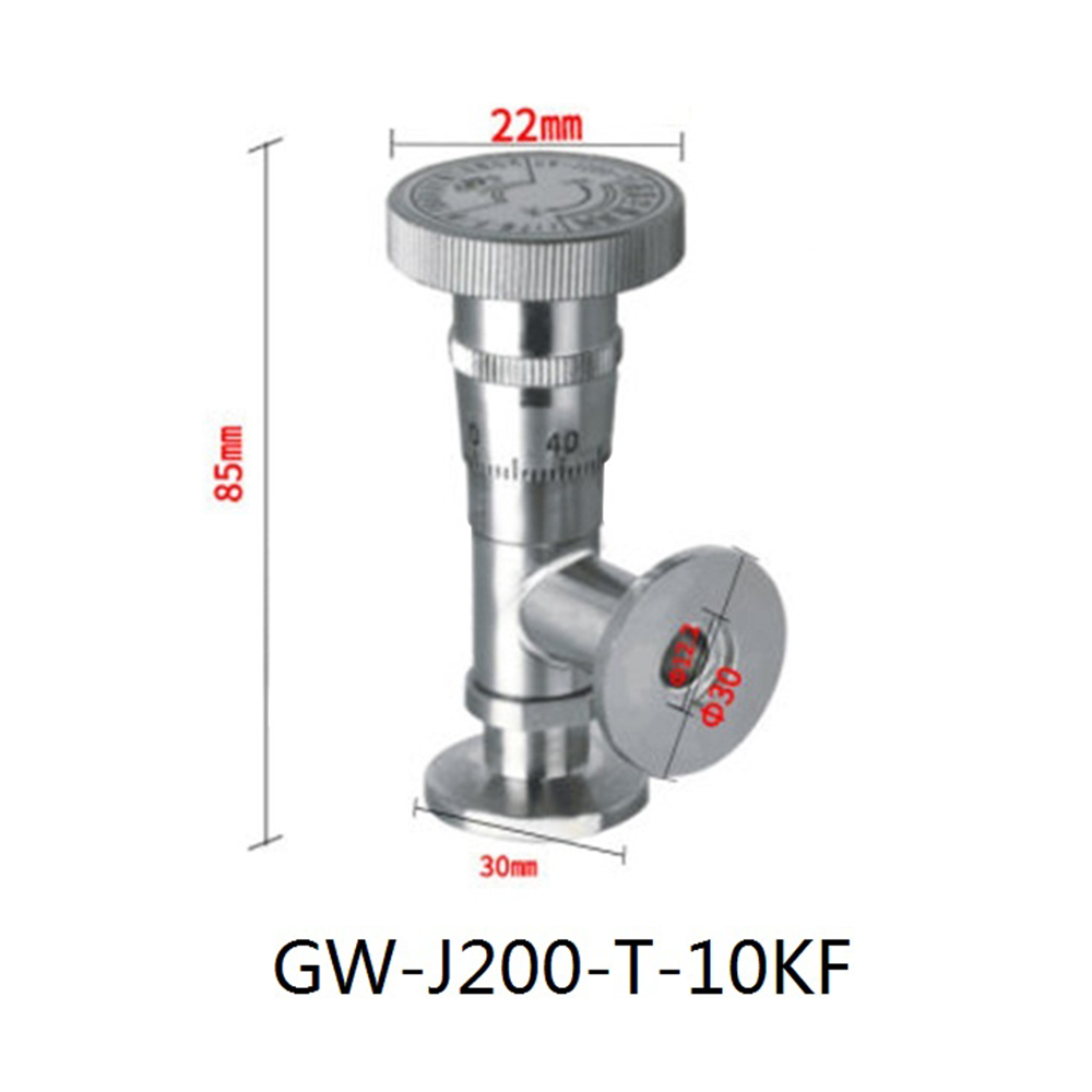 High Vacuum Fine Tuning Valve GW-J200-T/10KF