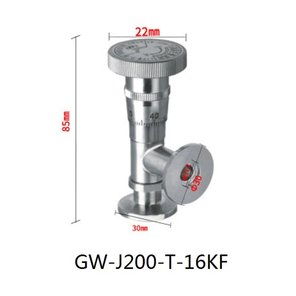 High Vacuum Fine Tuning Valve GW-J200-T/16KF
