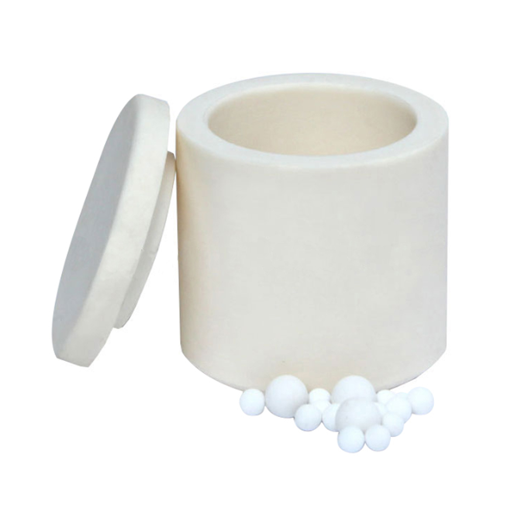 Alumina Ceramic Grinding Jar with Lid 100ml