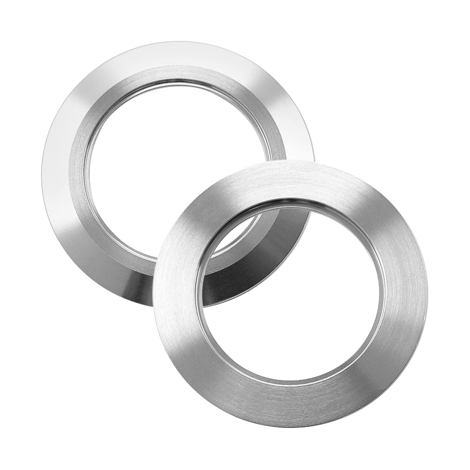 ISO-KF63 Stainless Steel Blank Vacuum Flanges with Bore, 2.5″
