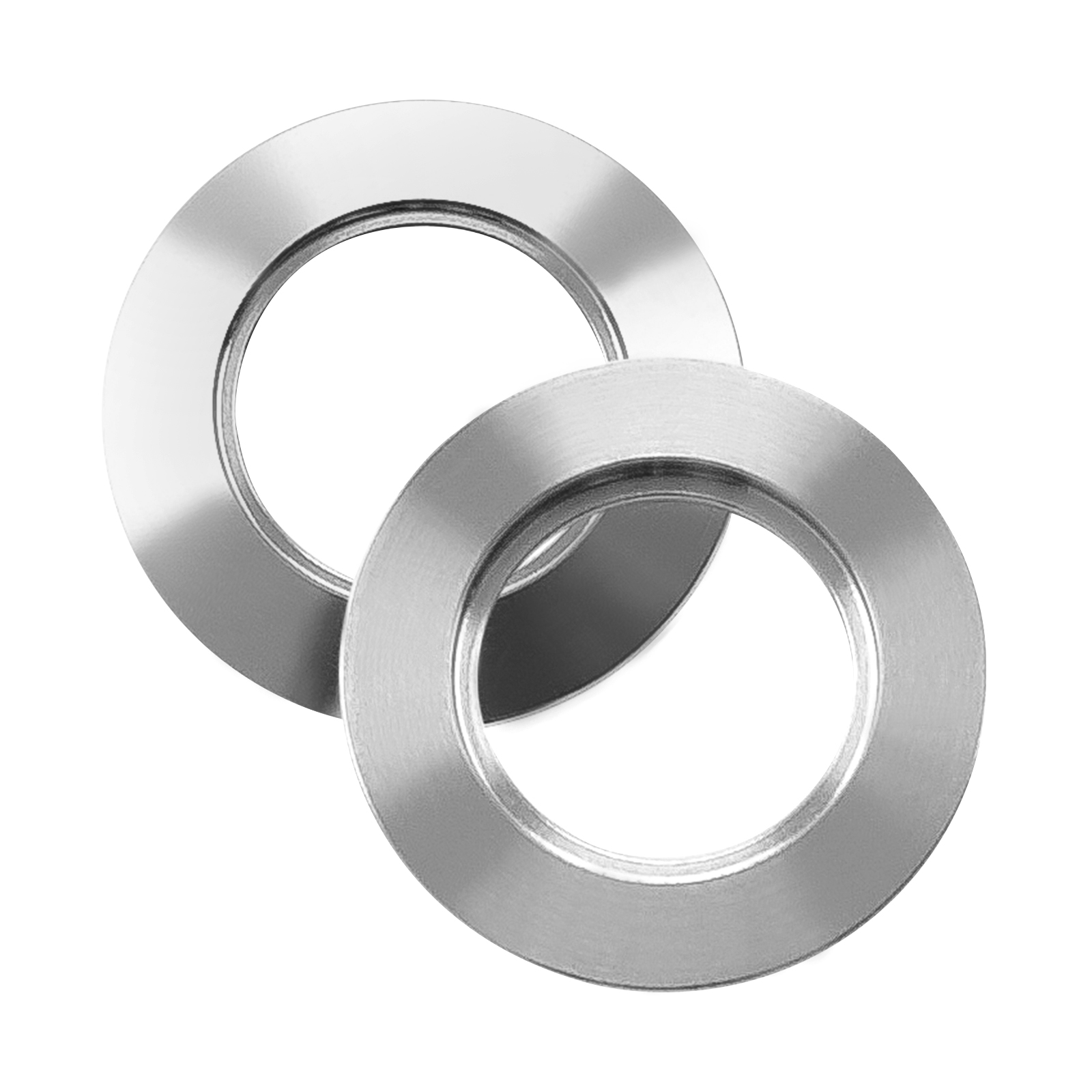ISO-KF25 Stainless Steel Blank Vacuum Flanges with Bore, 1.1″