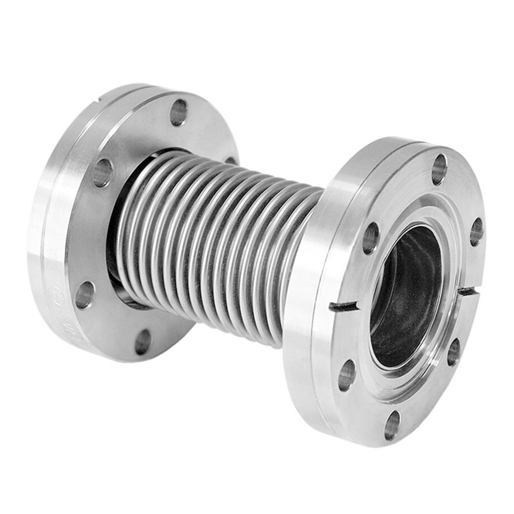 Conflat Flange (CF) Flexible Coupling, CF200, 12 inch,300mm, 304 SS, Stainless Steel Fittings
