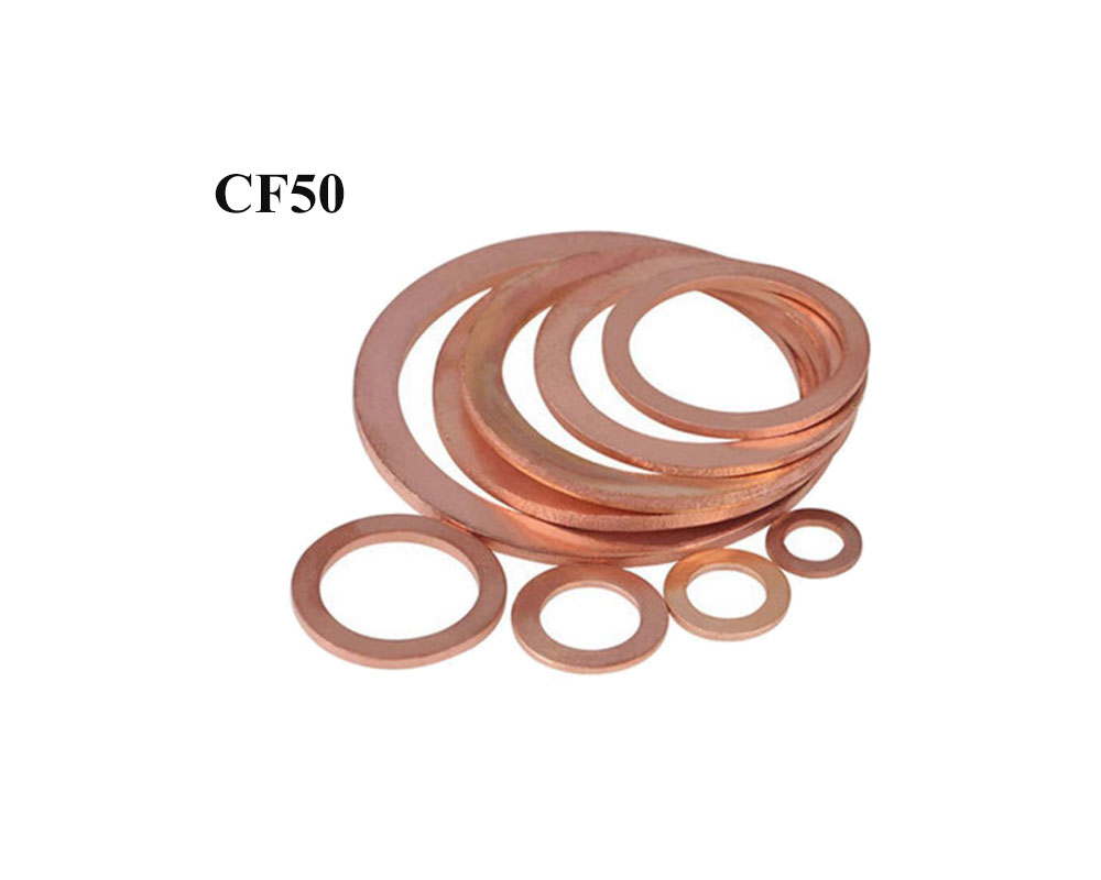 Copper Gaskets Size3-3/8″ CF50 Flange Fitting Parts for 3.375″CF Vacuum Pump