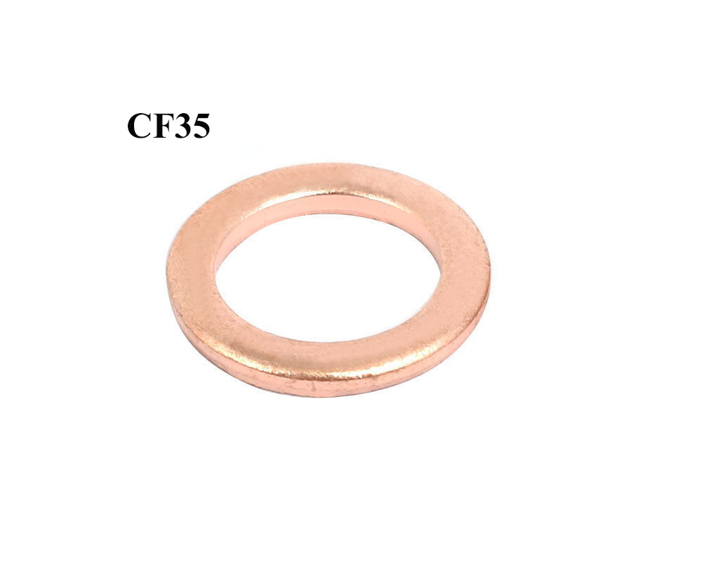 Conflat Flange Copper Gaskets CF Size 2-3/4″, CF35 Vacuum Pump Flange Fitting