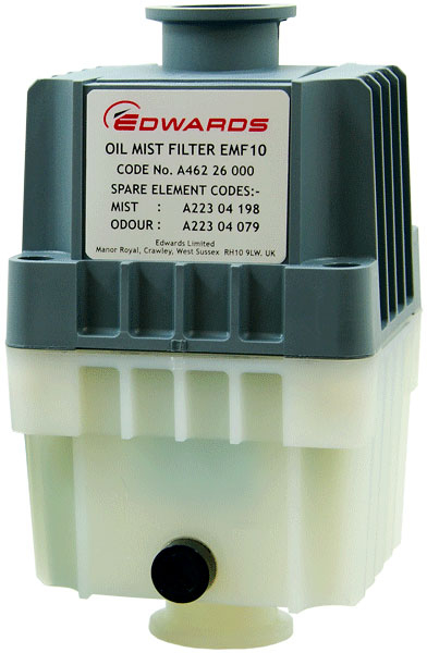 Edwards EMF10 Dual-Stage Exhaust Mist/Odour Filter