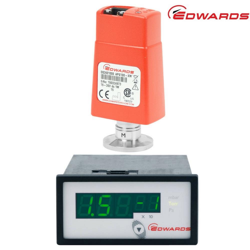 Edwards Pirani Gauge Package | APG100-XM + ADC Controller