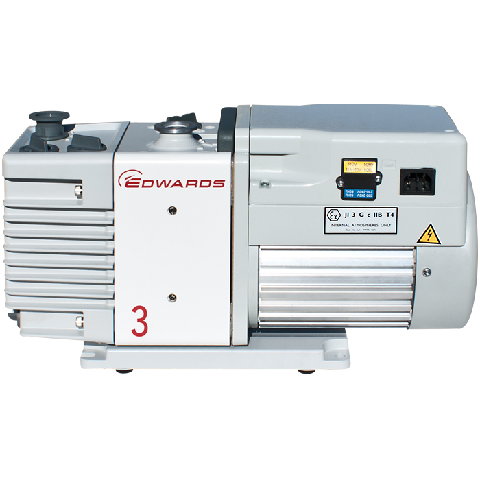 Edwards 3 RV3 Rotary Vane Dual Stage Mechanical Vacuum Pump