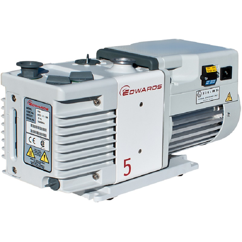 Edwards 5 RV5 Rotary Vane Dual Stage Mechanical Vacuum Pump 50/60Hz