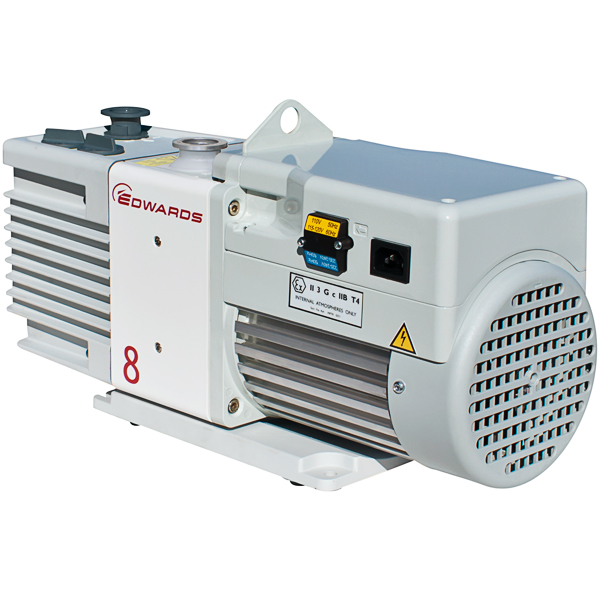 Edwards 8 RV8 Rotary Vane Dual Stage Mechanical Vacuum Pump