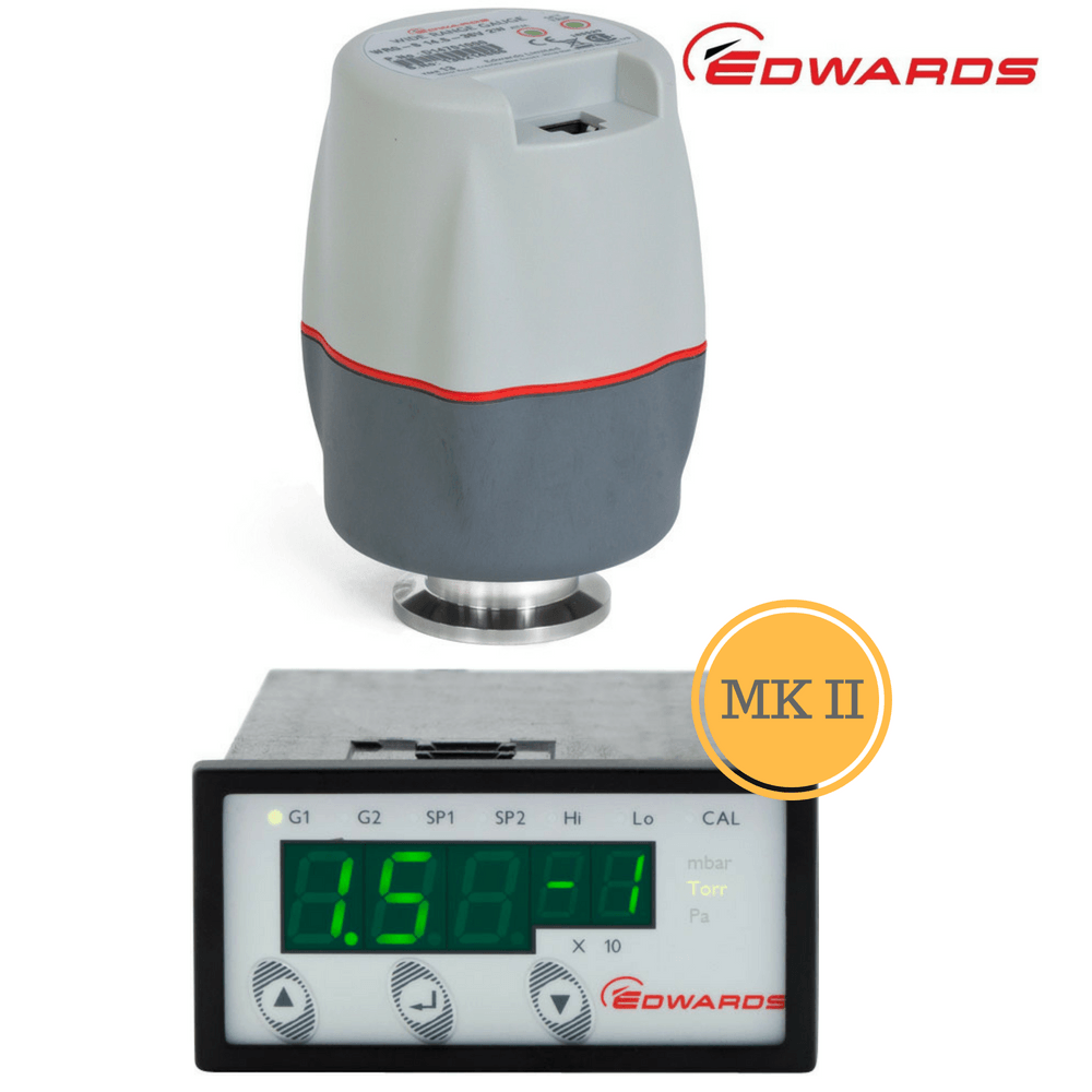 Edwards Wide Range Gauge Package | WRG-S WRG + ADC MkII Controller