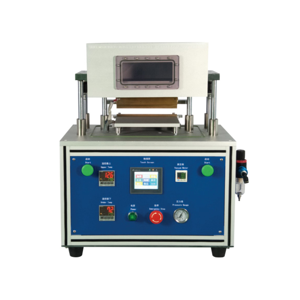 Lab Lithium Battery Vacuum Sealing Machine for Pouch Cell Second Final Sealing