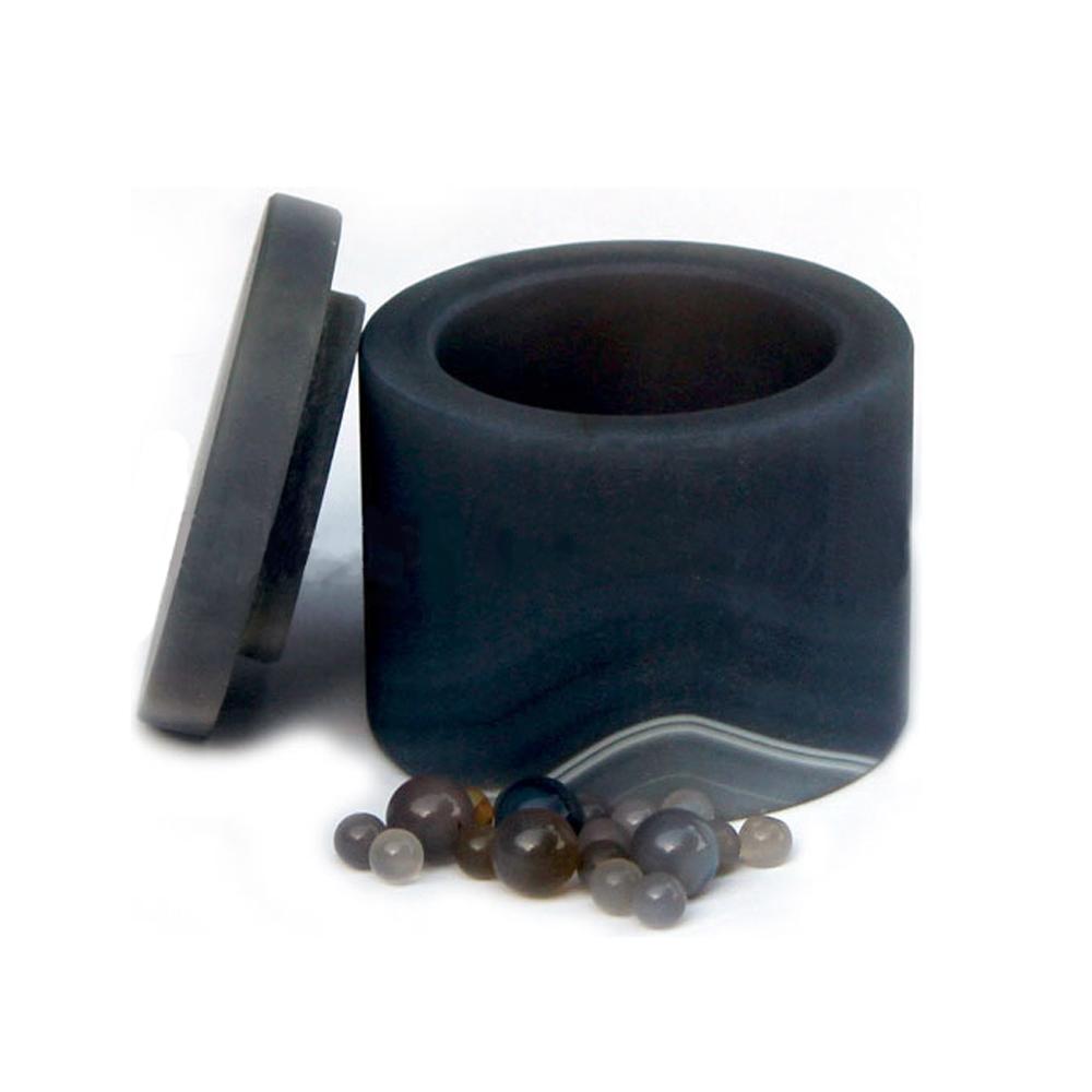 Natural Agate Grinding Jar w/ Lid 100ml