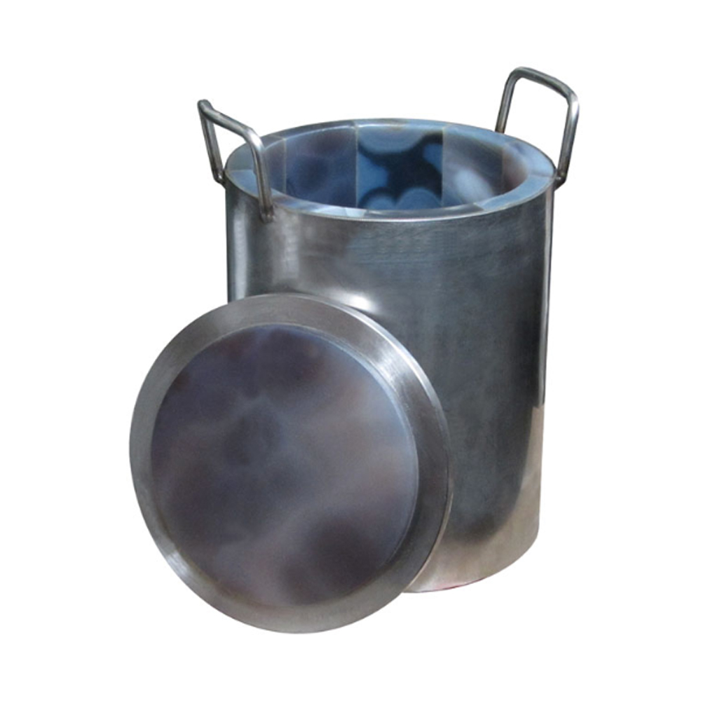 Natural Agate Grinding Jar w/ Lid 3L