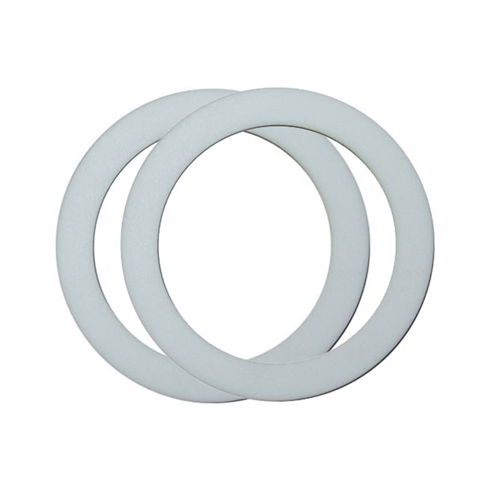 Pair of Rubber Sealing Gaskets for PQ-N Series Ball Mill Jars