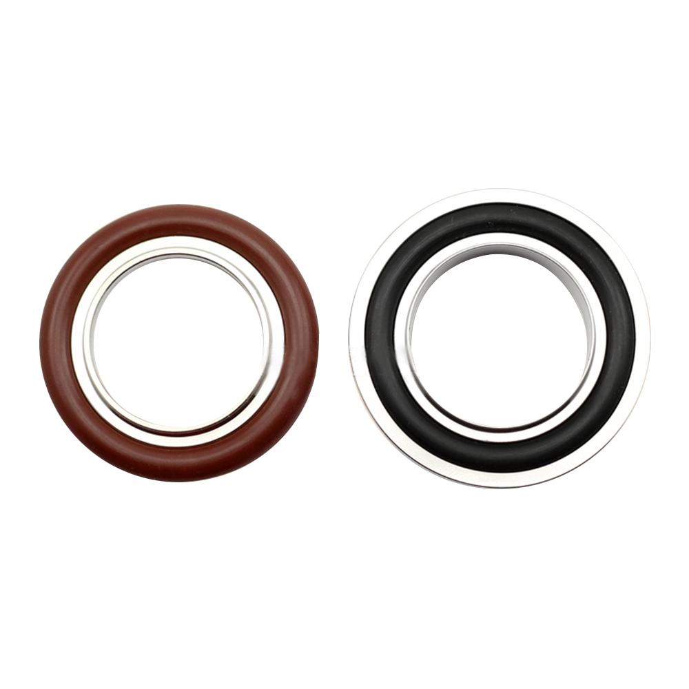 KF10 Stainless Steel Center Bracket + Fluorine Rubber Ring + Stainless Steel Outer Ring