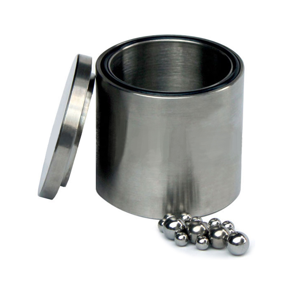 Stainless Steel (Grade 304) Grinding Jar with Lid 1L