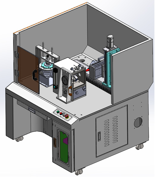 cardiac pacemaker laser welding workbench