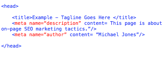 Meta Title And Meta Description in HTML