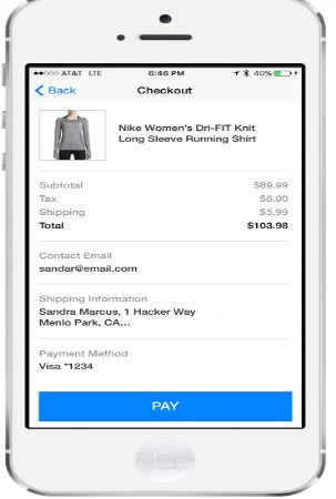 upselling and cros-selling via chatbot