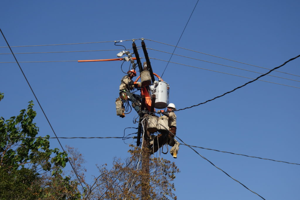 LADWP crews working to restore power as quickly and safely as possible
