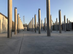 Image of the interior of the Headworks Reservoir Complex West
