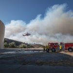 LADWP's Kittridge Water Tanks & Chatsworth Reservoir Support Woolsey Fire Response