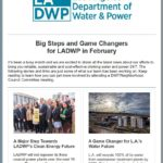 LADWP in the Community Newsletter, Feb. 2019