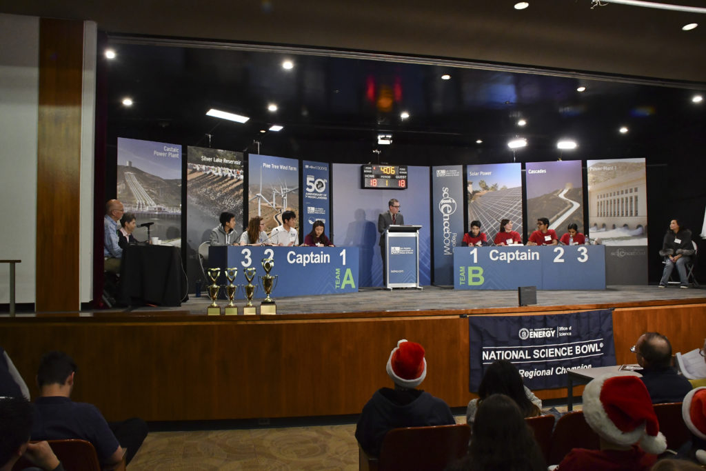 Final round of competition in LADWP Science Bowl