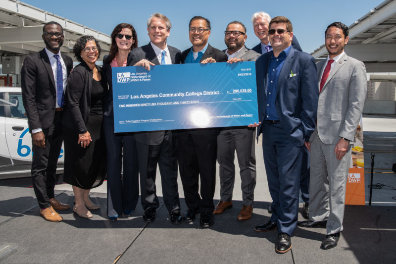 LADWP and LA Trade-Tech College Celebrate Completion of