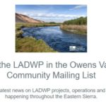 LADWP Community Mailing List