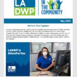 LADWP in the Community Newsletter – May 2020