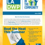 LADWP in the Community Newsletter – June 2020