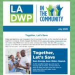 LADWP in the Community Newsletter – July 2020