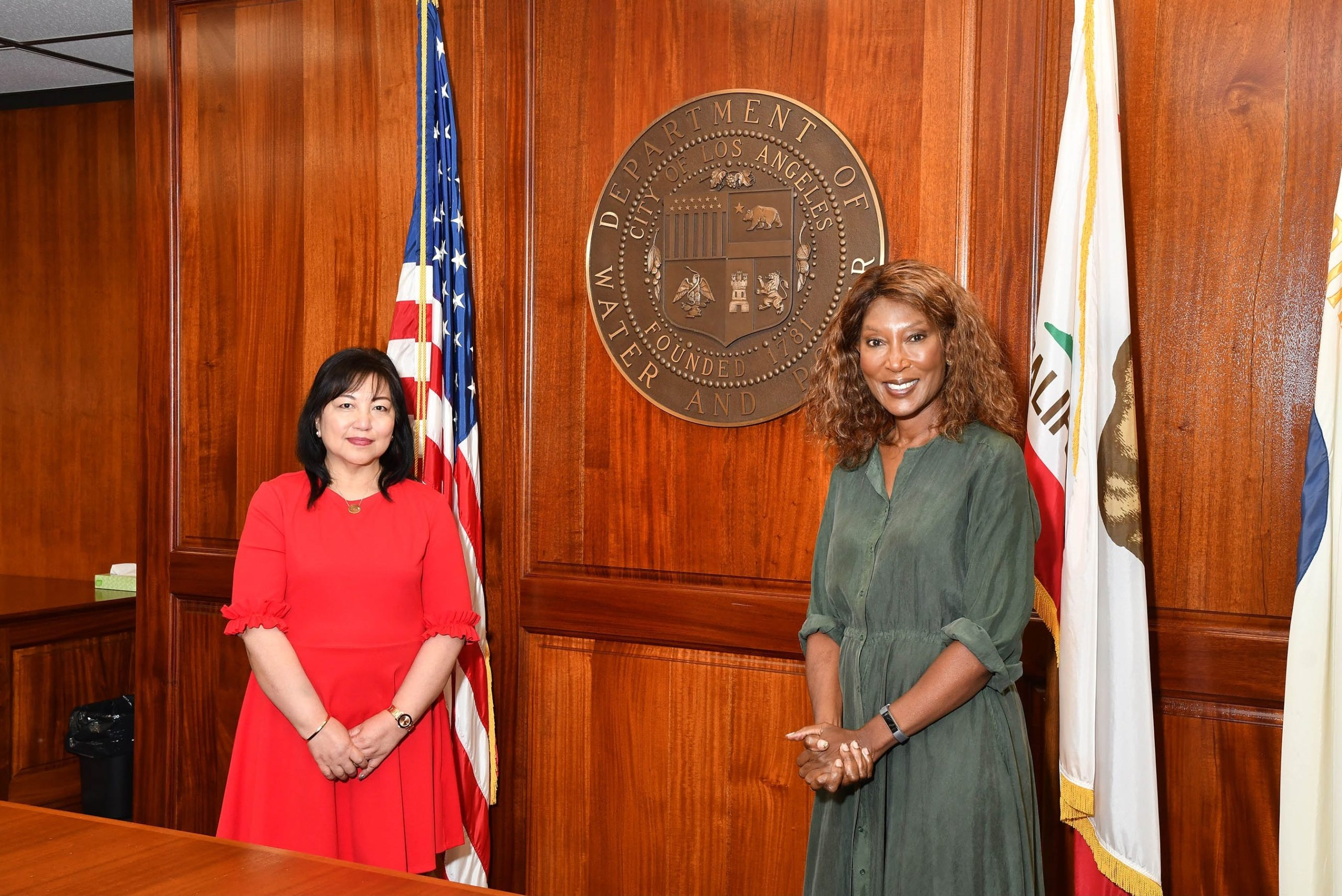 Cynthia McClain-Hill Elected President of LA Board of Water and Power Commissioners, Susana Reyes Elected Vice President