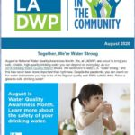 LADWP in the Community Newsletter – August 2020