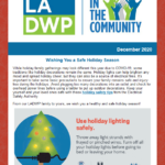 LADWP in the Community Newsletter – December 2020