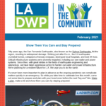 LADWP in the Community Newsletter – February 2021
