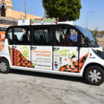 LADWP Promotes Transportation Electrification through Leimert Park EV Shuttle Wrap